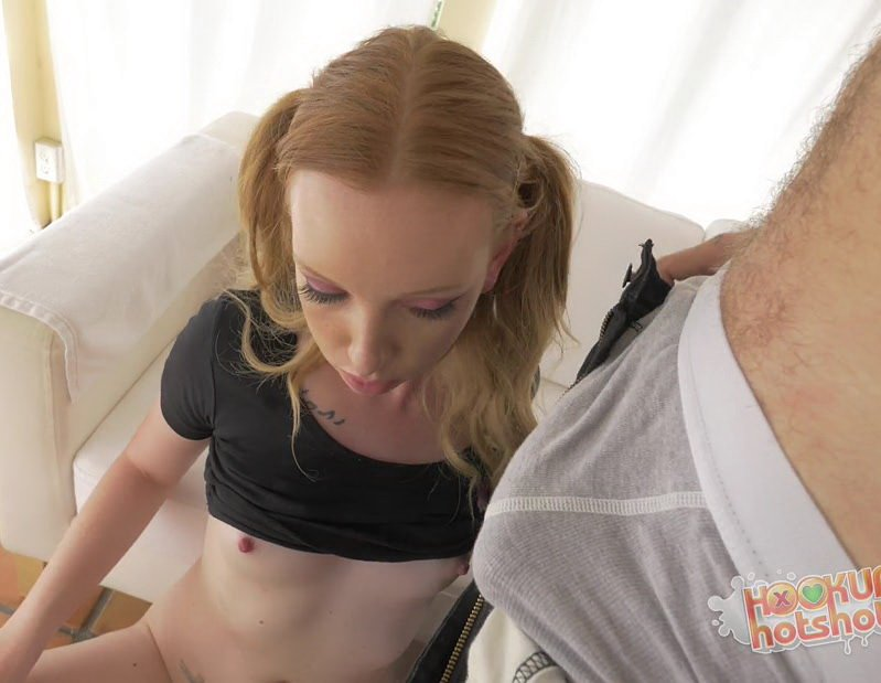 HookupHotshot.com - Katy Kiss - Fucked Out [FullHD / Teens / Facial / 2016]