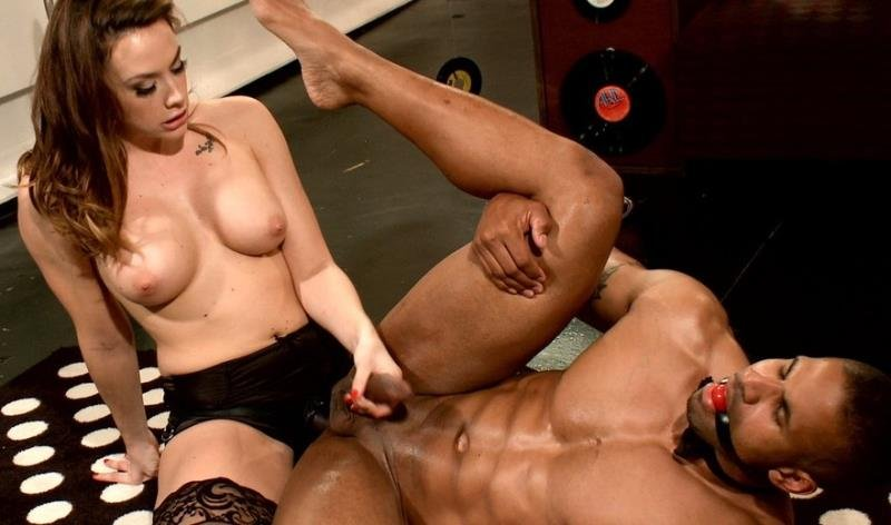 DivineBitches.com/Kink.com - Chanel Preston - Proving Hes Worthy To The Bitches [HD 720p / BDSM / Strapon / Anal / 2013]