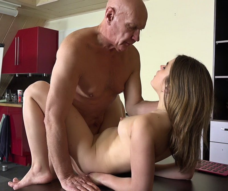 Oldje.com - Evelina Darling - Mr. Teacher, Give Me Sex! [FullHD / Oldman / Young girl / 2016]