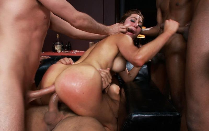 BoundGangBangs.com/Kink.com - Princess Donna Dolore - The Party: Starring Princess Donna [HD / BDSM / Gang Bang / 2012]