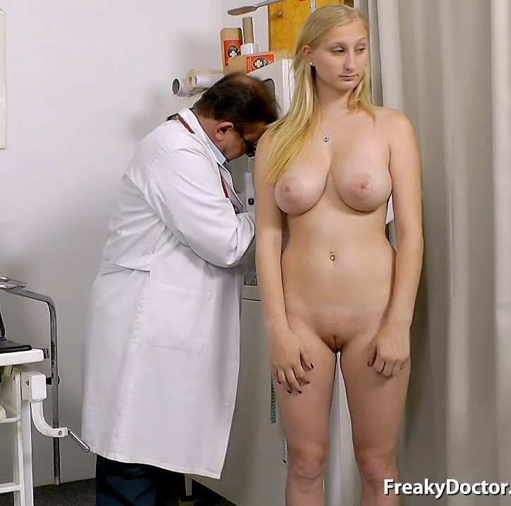 FreakyDoctor.com - Ingrid - 18 years girls gyno exam [SD / Pussy Gaping / Gyno Exam / 2015]