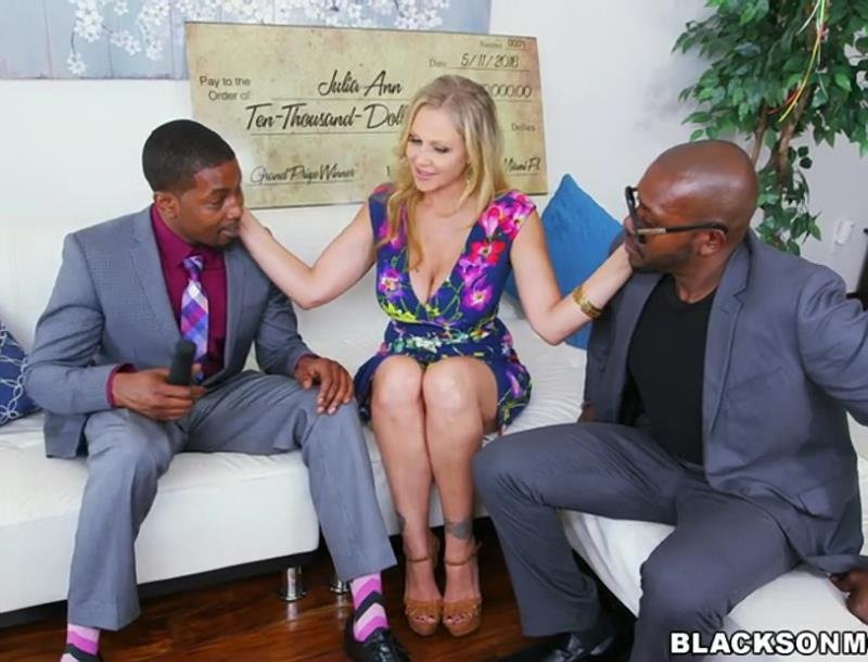 BlacksOnMoms.com - Julia Ann - Julia Ann Wins Three Big Prizes [SD / MILF / IR / 2016]