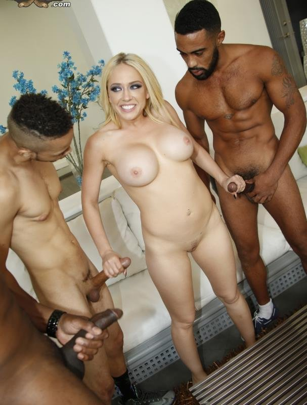 BlacksOnBlondes.com - Kagney Linn Karter - Blacks On Blondes [FullHD / Anal / Group / 2016]