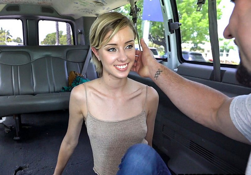 BangBus.com - Haley Reed - Kiss my pecker [SD / 18+ Teen / Amateur / 2016]