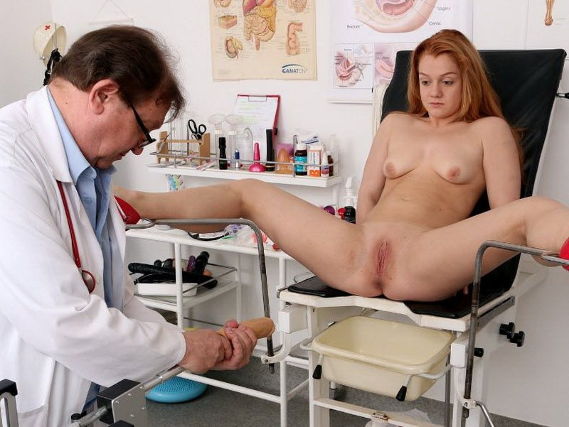 FreakyDoctor.com - Alex Ginger - 18 years girls gyno exam [HD / Pussy Gaping / Gyno Exam / 2016]