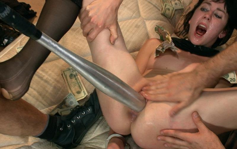 BoundGangBangs.com/Kink.com - Coral Aorta - The First Date [HD / BDSM / Gang Bang / 2012]