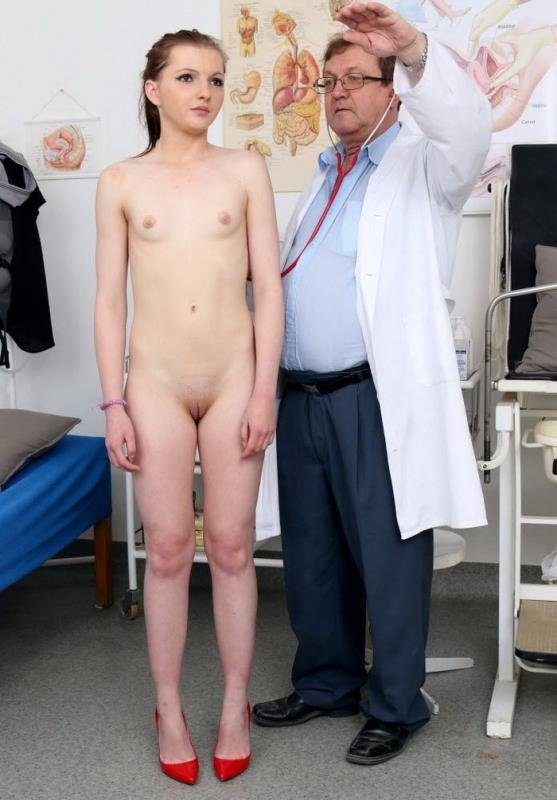 FreakyDoctor.com - Romi - 18 years girls gyno exam [HD / Pussy Gaping / Gyno Exam / 2016]