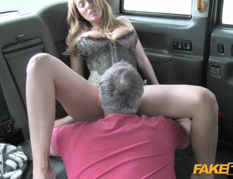 FakeTaxi.com - Stacey Saran - Sexy Mature MILF in Lingerie [FullHD / Deep Throat / Ball Licking / 2016]