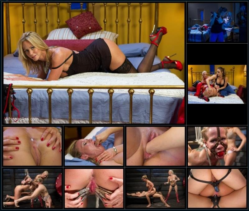 WhippedAss.com/Kink.com - Lorelei Lee , Chanel Preston and Simone Sonay - Hot MILF Stepmom fisted and double penetrated by step daughter and her best friend! [HD / BDSM / Bondage / 2012]
