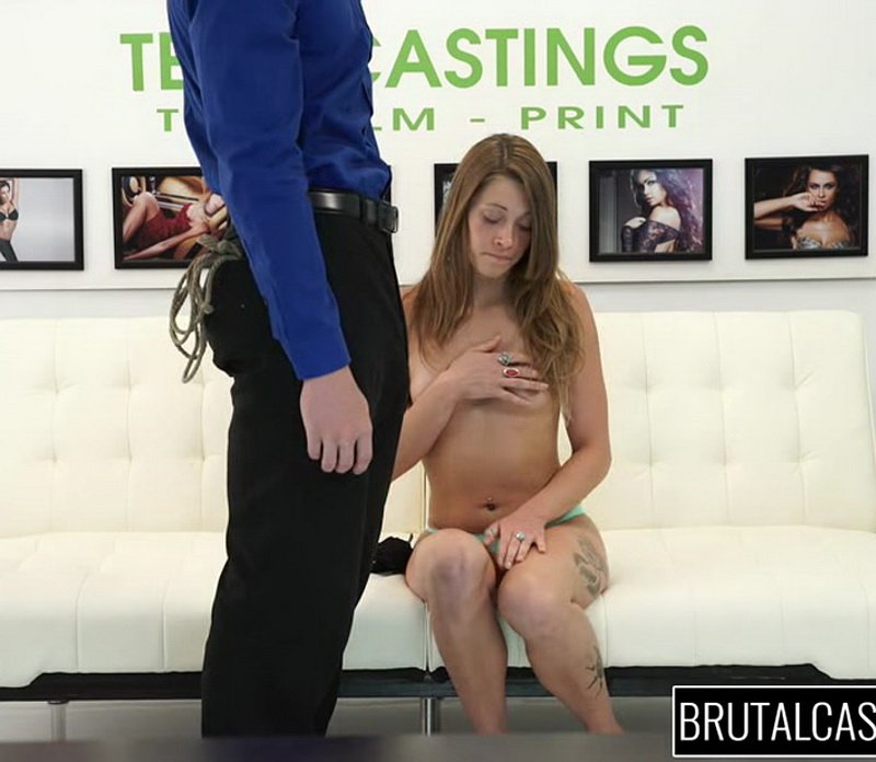 BrutalCastings.com - Kirsten Lee - Brutal Castings [SD / All Sex / Hardcore / 2016]