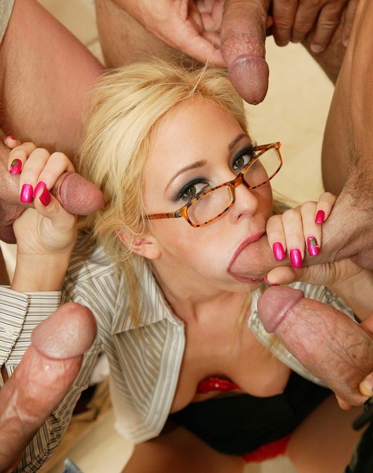 "DiabolicVideo.com - Hillary Scott - Gangbang Auditions 18"" [HD / DP / DAP / 2009]"