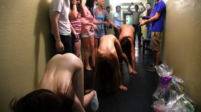 BangBros.com/HazeHer.com - Party - Naked delivery [HD / Reality / Group / 2012]