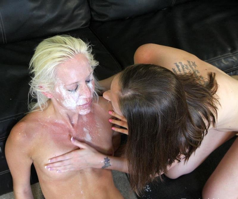FacialAbuse.com - Kacey V., Hailey Young - Facial Abuse [FullHD / Deepthroat / Gagging / 2011]