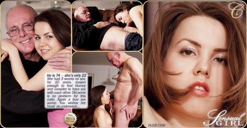 Oldje.com - Rita Jalace - Mature self confidence [FullHD / Oldman / Young girl / 2013]