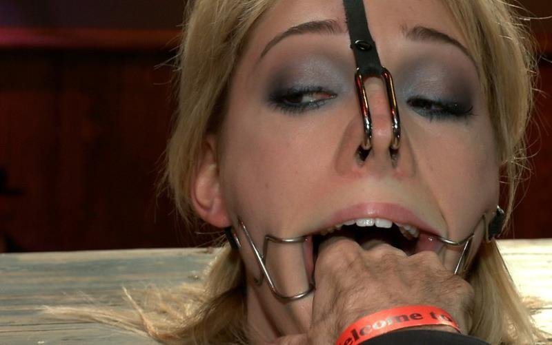 PublicDisgrace.com/Kink.com - Princess Donna Dolore, Lily LaBeau - Gorgeous 20 Year old Blonde Fucked and Degraded [HD / BDSM / Domination / 2011]