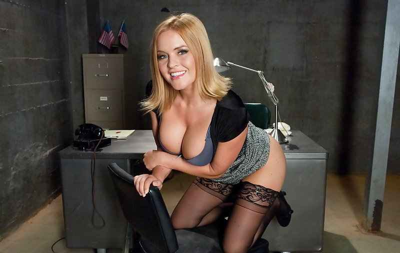 SexAndSubmission.com/Kink.com - Krissy Lynn - Bribing an Officer: Business Woman Arrested and Ass Fucked in Bondage! [HD / BDSM / Anal / 2012]