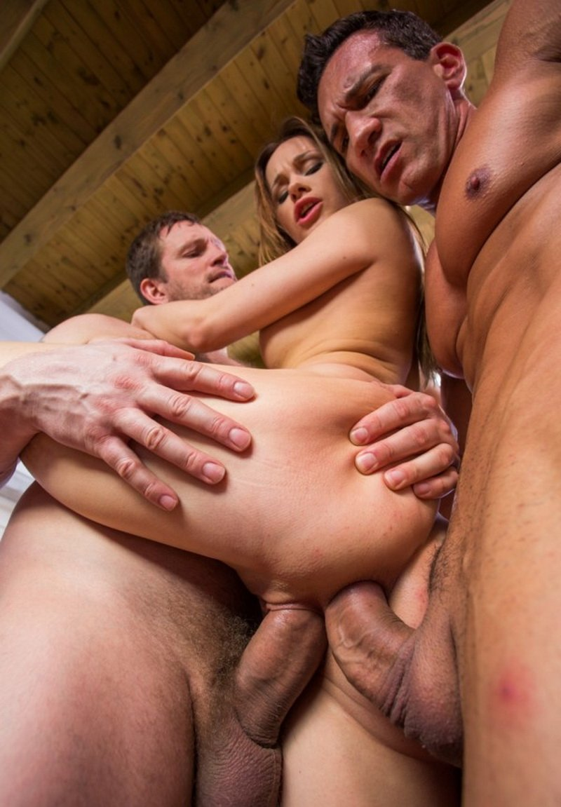 Private.com - Veronika - Private Specials 78: Ass Hunting In Venice [SD / Anal / DP / 2013]