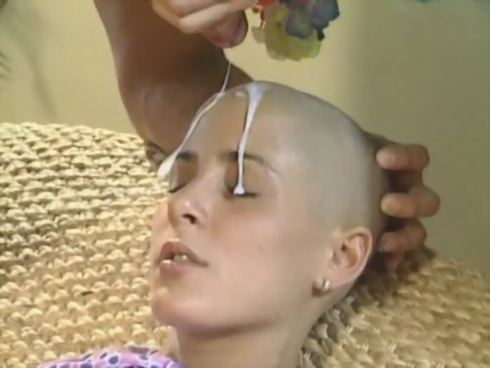 ClaudiaDeMoro.com - Claudia DeMoro - Bald German Teen gets Fucked and Takes the Cumshot on her Forhead [HD / Anal / Germany / 2010]