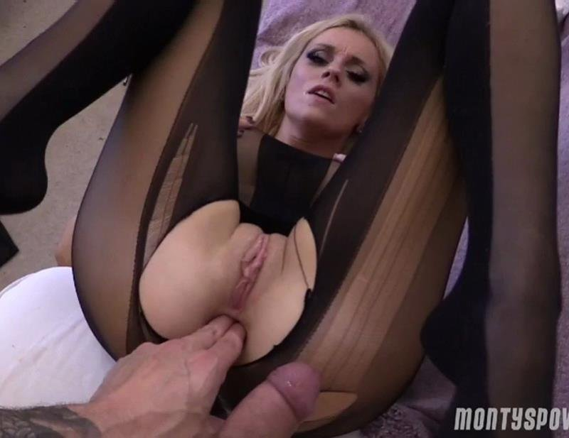 MontysPOV.com - Barbie Bangs - Anal Debut [SD / Anal / A2M / 2016]