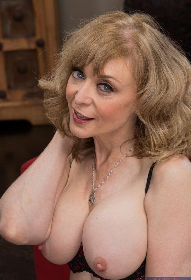 Seducedbyacougar.com/NaughtyAmerica.com - Nina Hartley - Naughty America [FullHD / Stockings / Swallowing / 2013]