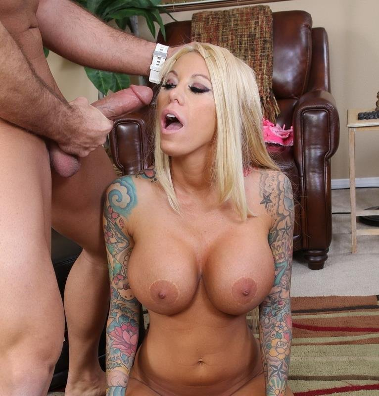 JesseLoadsMonsterFacials.com - Lolly Ink - Monster Facials [FullHD / Blowjob / MILF / 2016]