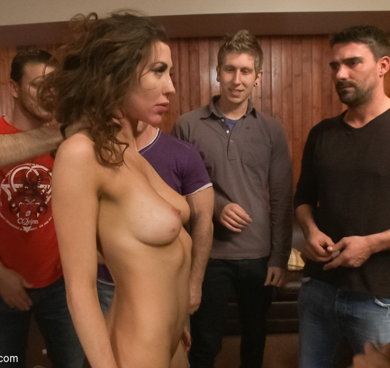 HardcoreGangbang.com/Kink.com - Princess Donna Dolore - Princess Donna Part 2: The most EPIC GANGBANG OF ALL TIME? [HD / BDSM / DP / 2013]