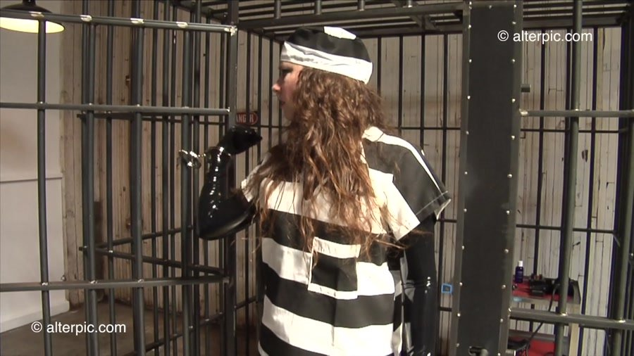 Alterpic.com - Sonia, Nikol - Jail Cell Samurai-1 [HD 720p / Latex / Rubber / 2016]
