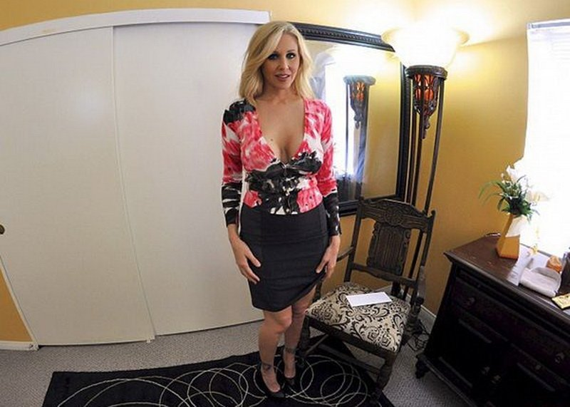PornGOESpro.com - Julia Ann - Julia Ann Gets A Call [HD / MILF / Incest / 2013]