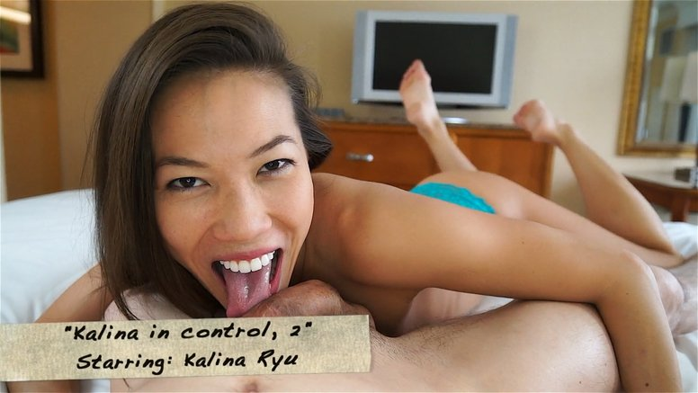 Clips4Sale.com - Kalina Ryu - Kalina in control, 2 [FullHD 1080p / Blowjobs / Asian / 2016]