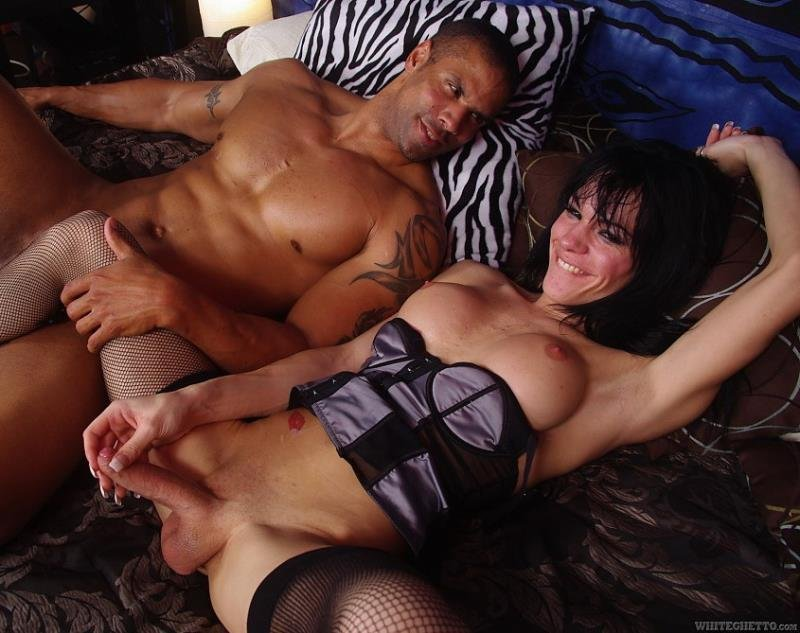WhiteGhetto.com - Jordan Jay - Monsters Of She Male Cock 32 [FullHD / Shemale / Transsexual / 2013]