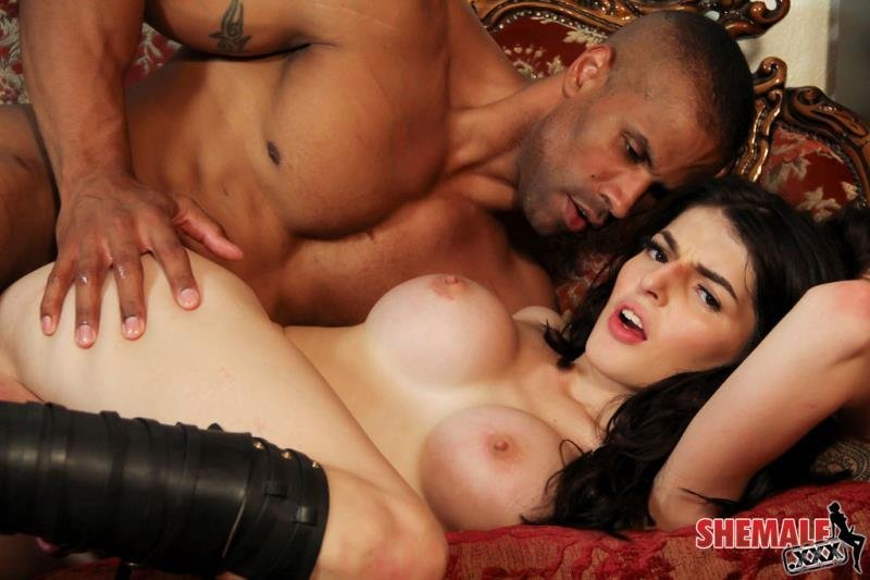 Shemale.xxx - Vixxen Goddess - Vixxen Goddess Gets Fucked Hard! [HD 720p / Transsexual / Anal / 2016]