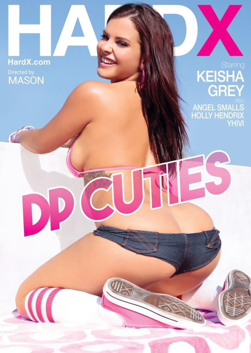 Hard X - Keisha Grey, Holly Hendrix, Angel Smalls, Yhivi - DP Cuties [WEBRip/SD 540p / Gonzo / Teens / 2016]