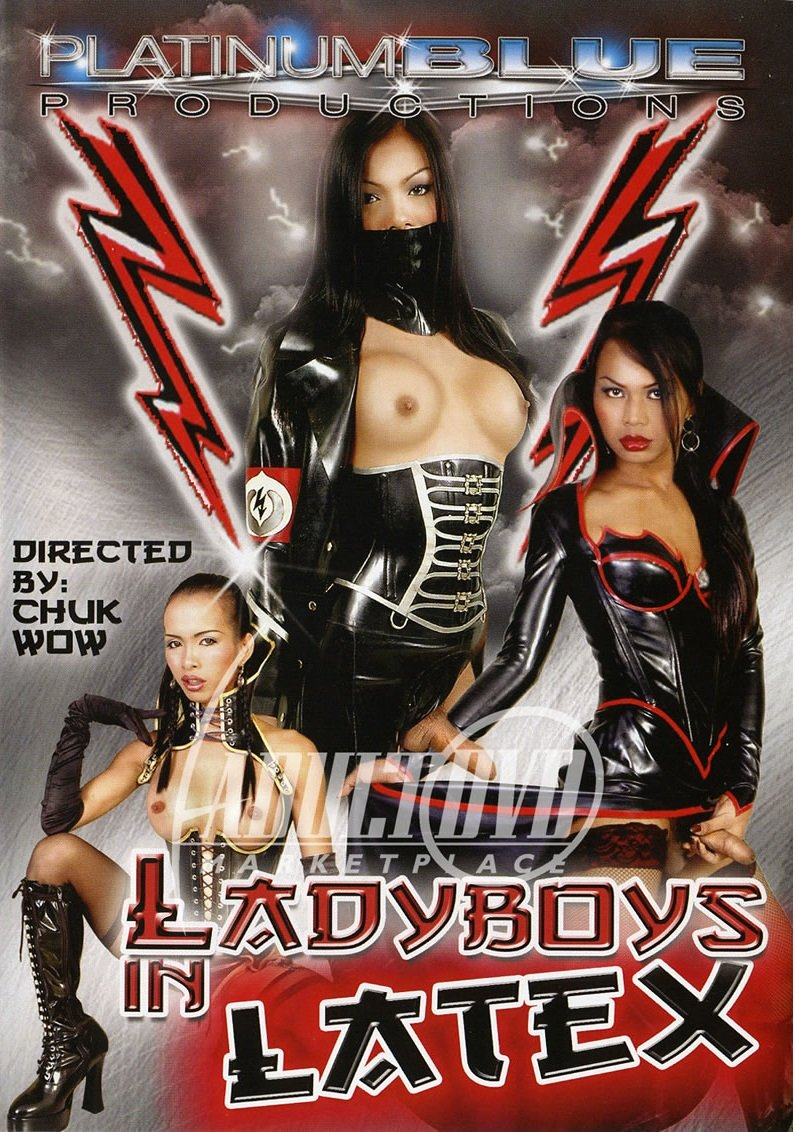 Platinum Blue Productions - Cindy, Jenny, Cat, Joon, Lyn, Loogate - Ladyboys in Latex [DVDRip 384p / Transsexual / Anal / 2007]