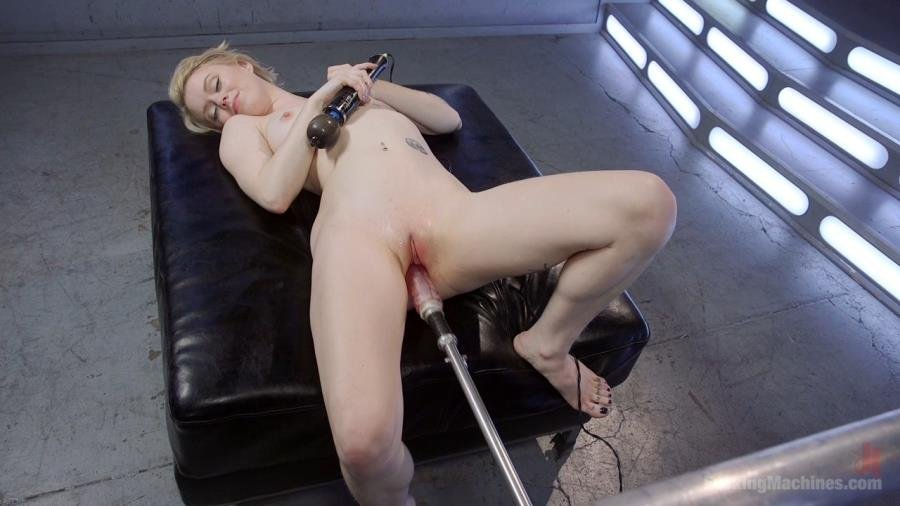 FuckingMachines.com - Anna Tyler - Blonde Pixie Gets Fucked Into Oblivion [HD 720p / Fuck Machine / Masturbation / 2016]