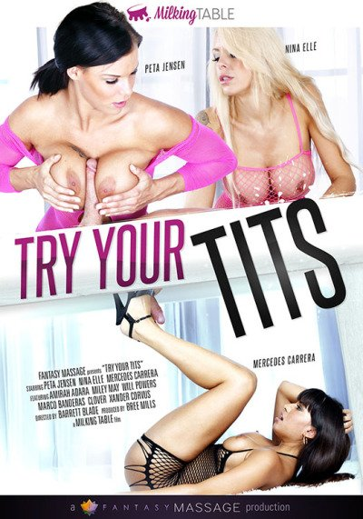 Fantasy Massage - Mercedes Carrera, Miley May, Nina Elle, Peta Jensen, Amirah Adara, Peta Jensen. - Try Your Tits [WEBRip/SD 544p / All Sex / Massage / 2016]