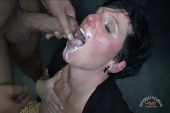 Female contortionist nude self lick