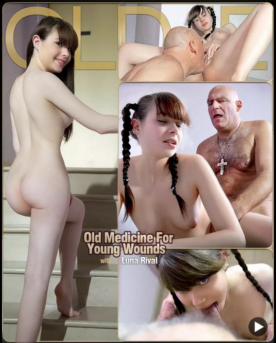 ClassMedia.com - Luna Rival - Old Medicine For Young Wounds [FullHD 1080p / Oldman / Young girl / 2016]