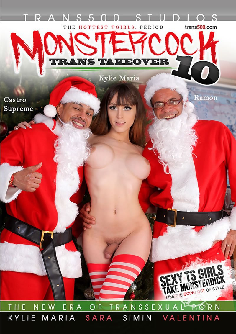 Trans 500 Studios - Simine (Asian) Kylie Maria Valentina (TS) Sara Ramon Castro Supreme - Monstercock Trans Takeover 10 [WEBRip/SD 406p / Transsexual / Anal / 2016]