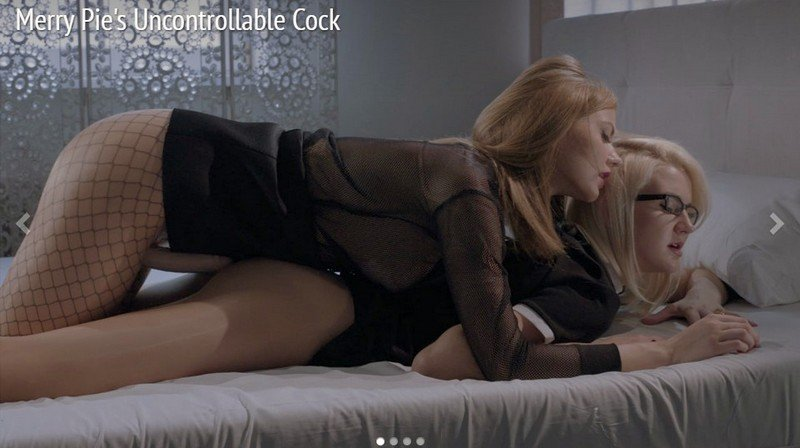 StraplessDildo.com - Merry - Merry Pie's Uncontrollable Cock [FullHD 1080p / Pantyhose / Lesbians / 2016]