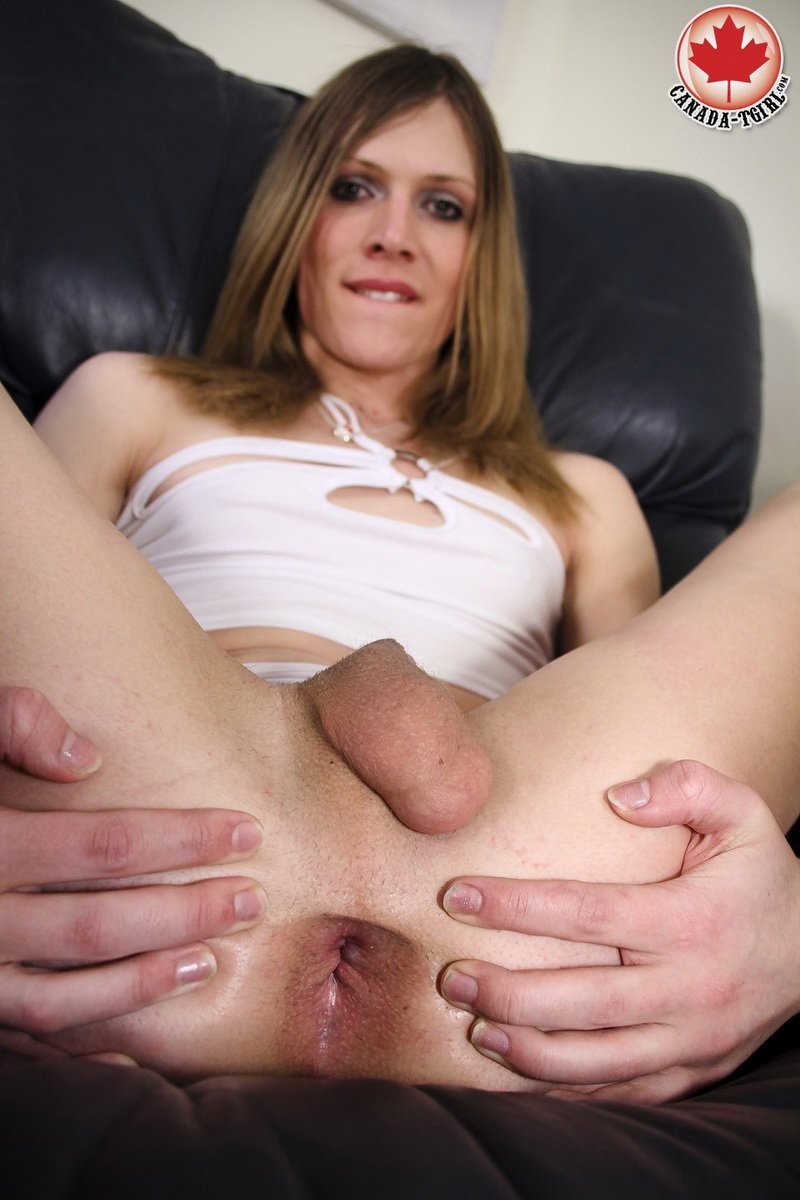 Canada-Tgirl.com - Casey Lay - Mmm Casey Lay! [HD / Transsexual / Shemale / 2013]