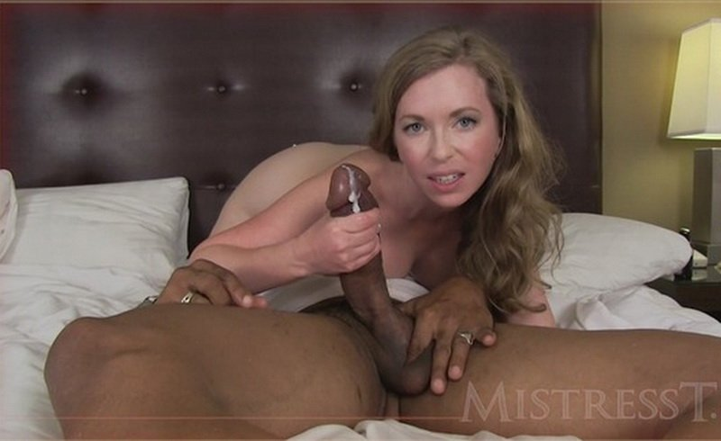 MistressT.net/clips4sale.com - Mistress T - Cuckolded By Mistress T and Shane Diesel [HD / Interracial / Handjob / 2013]