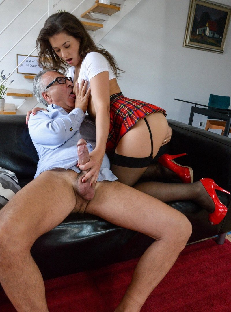 JimSlip.com - Savannah Secret - The harlot of hades [FullHD / Old man / Young girl / 2013]