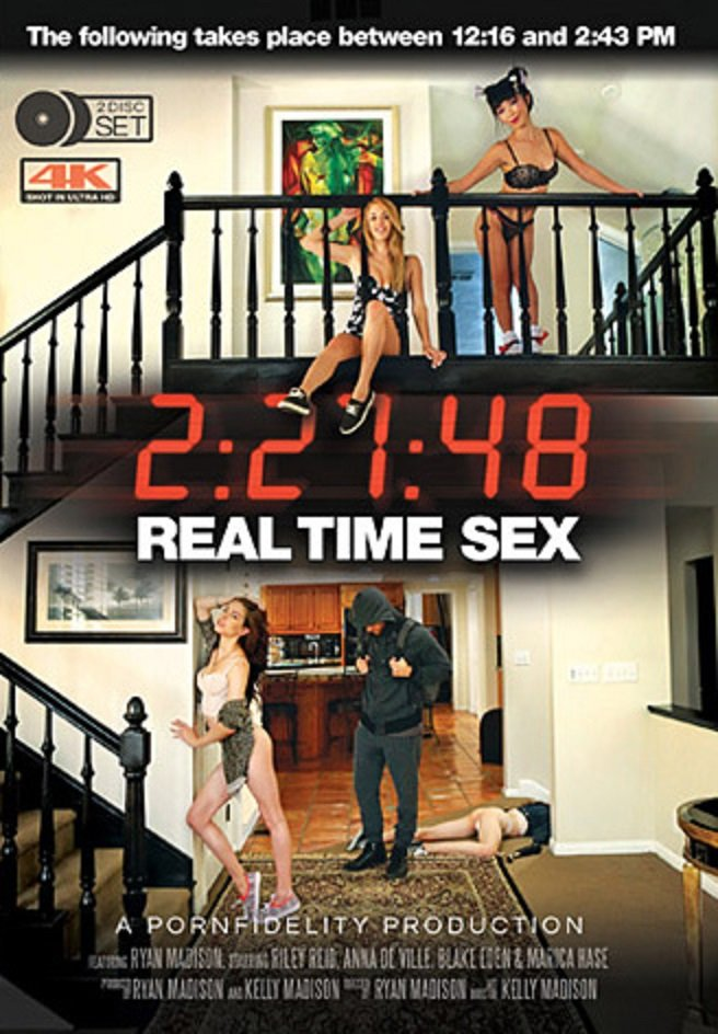 Teen Fidelity - Ryan Madison, Riley Reid, Anna De Ville, Blake Eden, Marica Hase - Real Time Sex [WEBRip/SD 360p / All Sex / Gonzo / 2016]