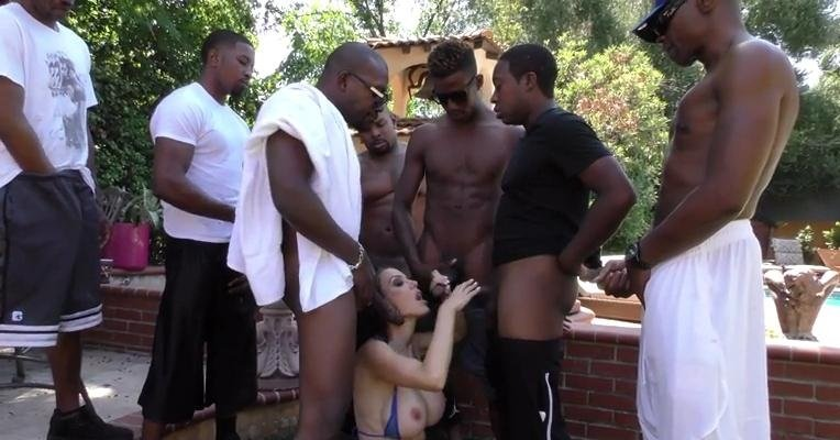 BlacksOnBlondes.com - Mckenzie Lee - Group [SD / Blonde / Interracial / 2016]