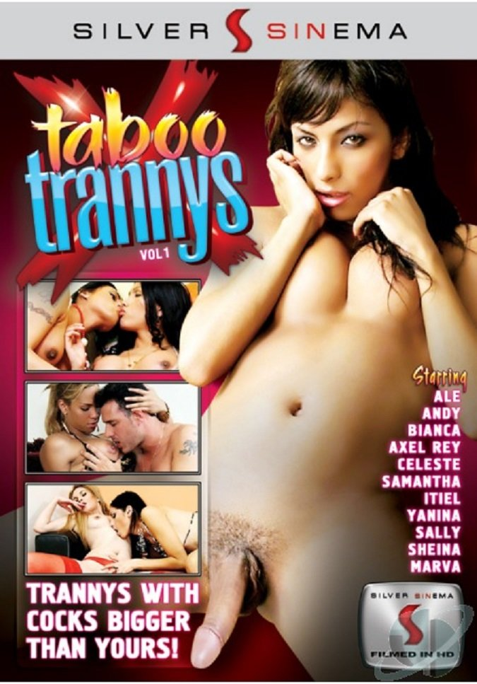 Silver SINema - Celeste, Samantha, Bianca, Andy, Sally, Itiel, Sheina, Ale, Marva, Yanina, Axel Rey - Taboo Trannys [WEBRip/SD 368p / Transsexual / Anal / 2010]