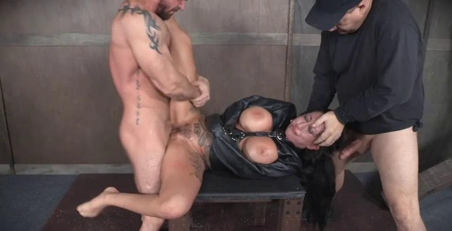 SexuallyBroken.com - Lily Lane - Lily Lane is our new ALT big titted tan slut who can take a dick like a champ! Bondage and rough sex [SD / BDSM / Bondage / 2016]