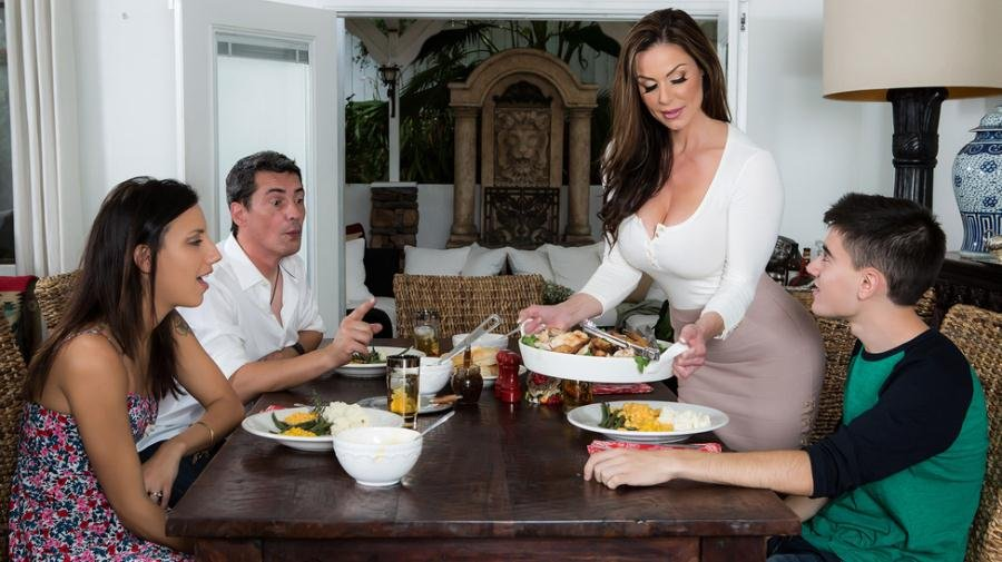 Brazzers.com - Kendra Lust - Kendras Thanksgiving Stuffing [SD / Brunette / MILF / 2016]