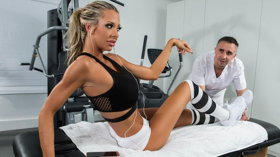 DirtyMasseur.com - Courtney Taylor - Stress Buster [SD / Blonde / Work Fantasies / 2016]