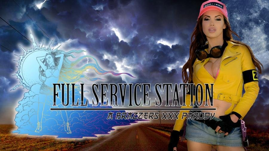 BrazzersExxtra.com - Nikki Benz - Full Service Station [SD / Big Tits Worship / Bubble Butt / 2016]