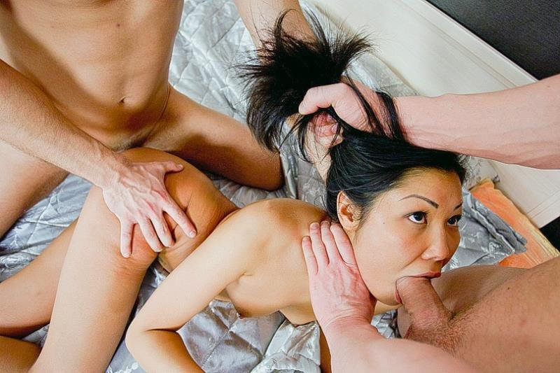 HardFuckGirls.com/WTFPass.com - Miranda - Miranda - Hard Double Penetration Sex At Birthday Party [HD / DP / Asian / 2014]